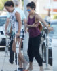 EXCLUSIVE: Nina Dobrev picks up a friend on crutches in Santa Monica